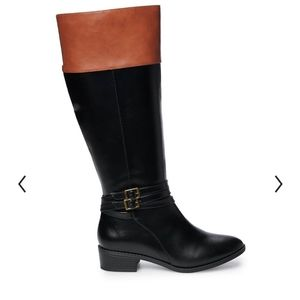 SO Trixie Women's Riding Black Boots